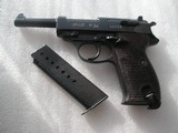 walther zero series 3rd issue pistol with matching serial number magazine
