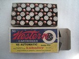 COLLECTIBLE US MILITARY CALIBER .45 ACP FOR SALE - 14 of 20