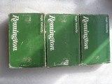 Remington cal. 375 H & H magnum 270GR soft point 3 BOXES 58 rds $130
