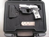 SIG/SAUER MODEL 238 CAL. .380 ACP W/LASER AND KNIGHT SIGHTSLIKE NEW CONDITION
