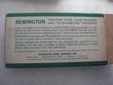REMINGTON PARCIAL BOX 8 ROUNDS VINTAGE CALIBER 6.5 RE. MAG. SOFT POINT - 5 of 6