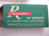 REMINGTON PARCIAL BOX 8 ROUNDS VINTAGE CALIBER 6.5 RE. MAG. SOFT POINT - 3 of 6