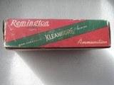 REMINGTON CLEANBORE VINTAGE 45 AUTO RIM RARE AMMO FULL BOX OF 50 ROUNDS - 2 of 19