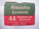 .44 REMINGTON MAGNUM CALIBER AMMO FOR SALE - 19 of 19