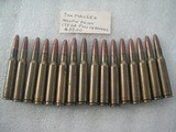 7 mm MAUSER HOLLOW POINT 175GR FMJ AMMO TOTAL 21 ROUNDS