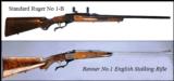 RUGER NO.1 & M77 TROPHY RIFLES- 2 of 12