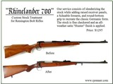 PRE-WAR 77s, BROWNING BOLT RIFLES, WIN 70s, REM 700s, MAUSERS, CZ550s - 8 of 14