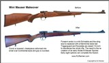 PRE-WAR STYLE MARK X MAUSERS - 9 of 10