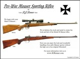 pre war style mark x mausers