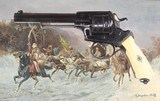 Exceptional Auguste Francotte Engraved Model .44 cal. Revolver (Adams 1867 Army Type)