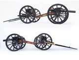 Fine Antique Model of a British RML 1871 Field Cannon with Limber