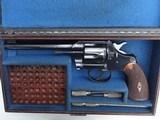 EXCELLENT COLT 1st MODEL , 1907, 'OFFICERS MODEL' .38 REVOLVER, CASED - 3 of 14