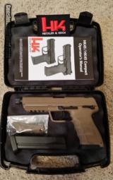 Heckler & Koch .45 ACP Tactical Full Dark Earth NIB - 1 of 3