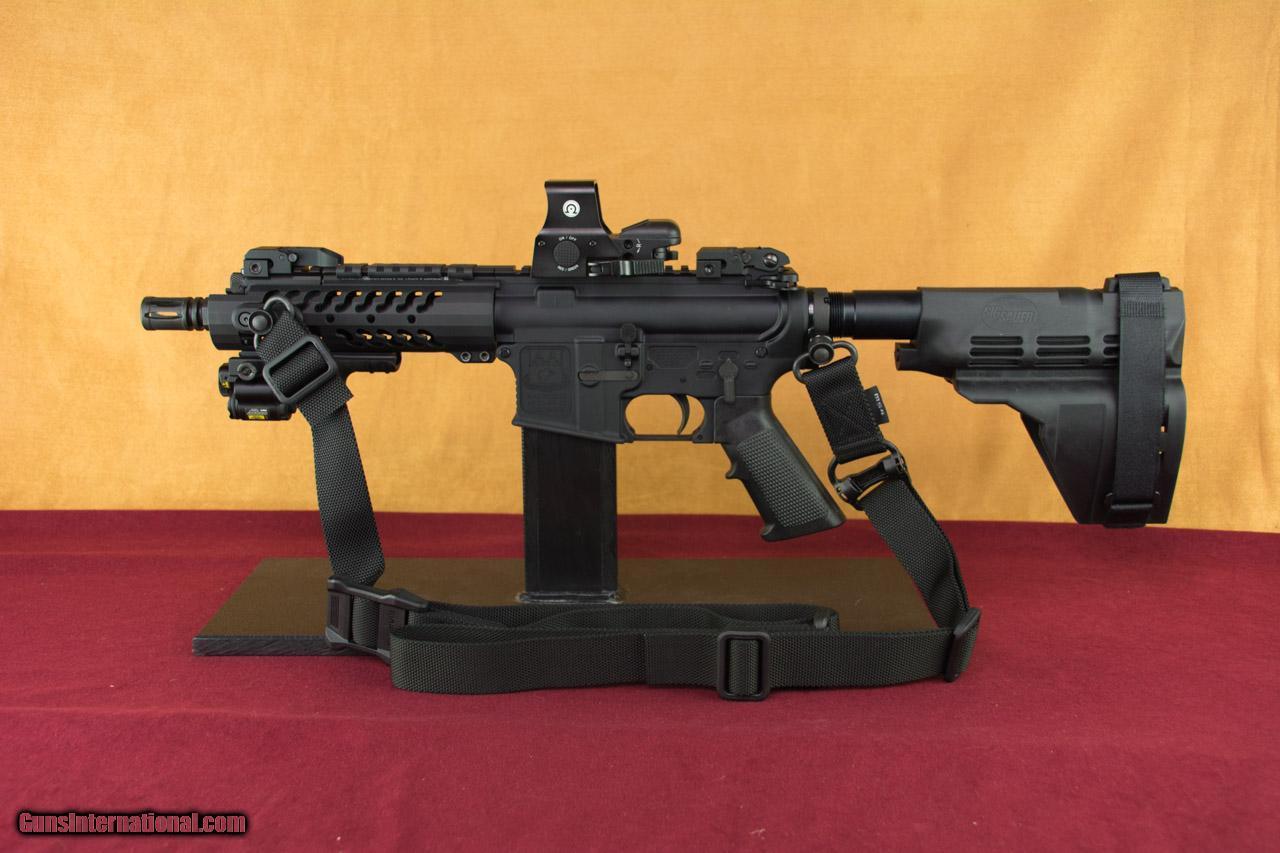Adams Arms 7 5 U0026quot  Tactical Evo Pistol