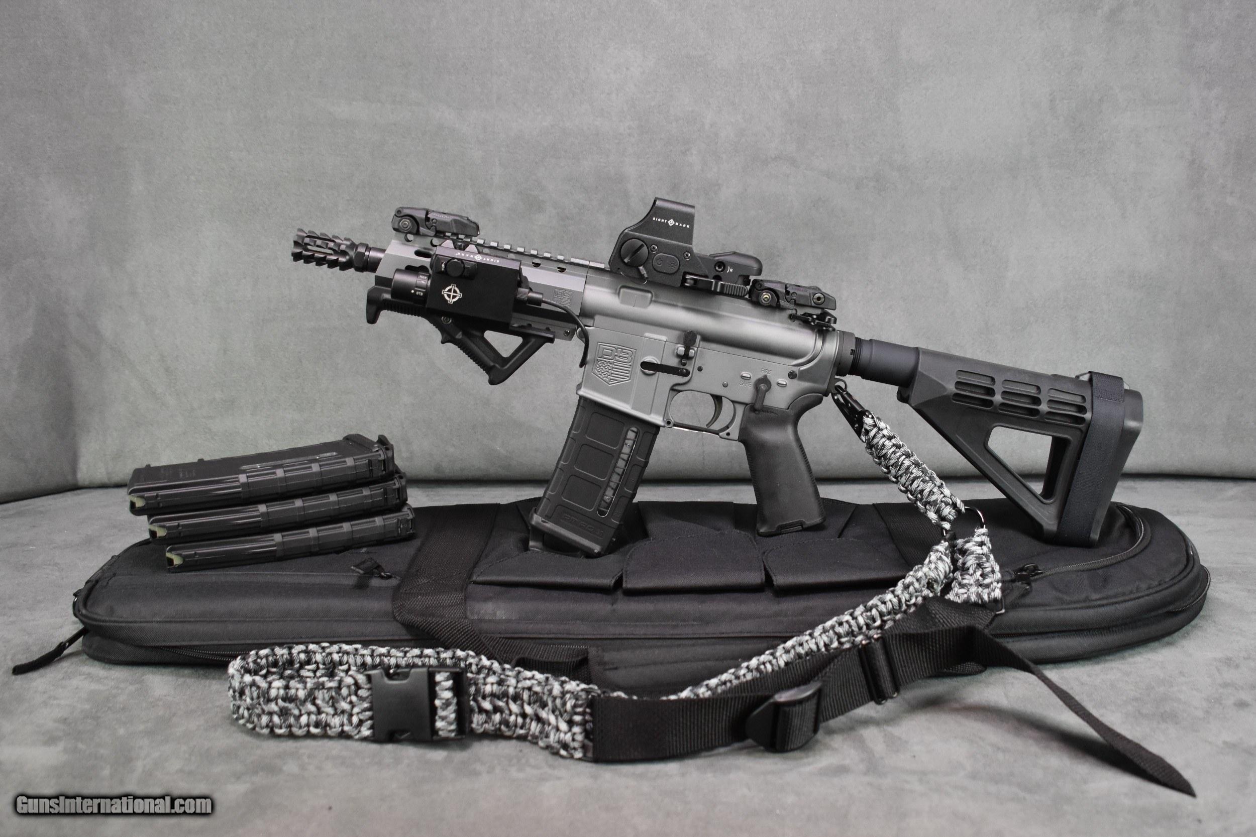 91eab51b1f4 DB15P AR-15 TACTICAL PISTOL IN GRAY - 1 of 11 ...