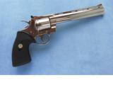 Colt Python Electroless Nickel Finish, Cal. .357 MagnumSOLD - 2 of 4
