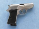 Walther PPK/S Stainless, Cal. .380 ACP , Pre S&W