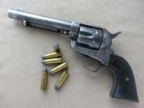 Colt Single Action Army 1st Generation 1903 Mfg. in .38-40 Caliber (.38 WCF)