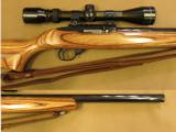 Ruger 10/22 Heavy, Hammer Forged Barrel, Cal. .22 LRwith Tasco 3-9x ScopeSOLD - 4 of 11