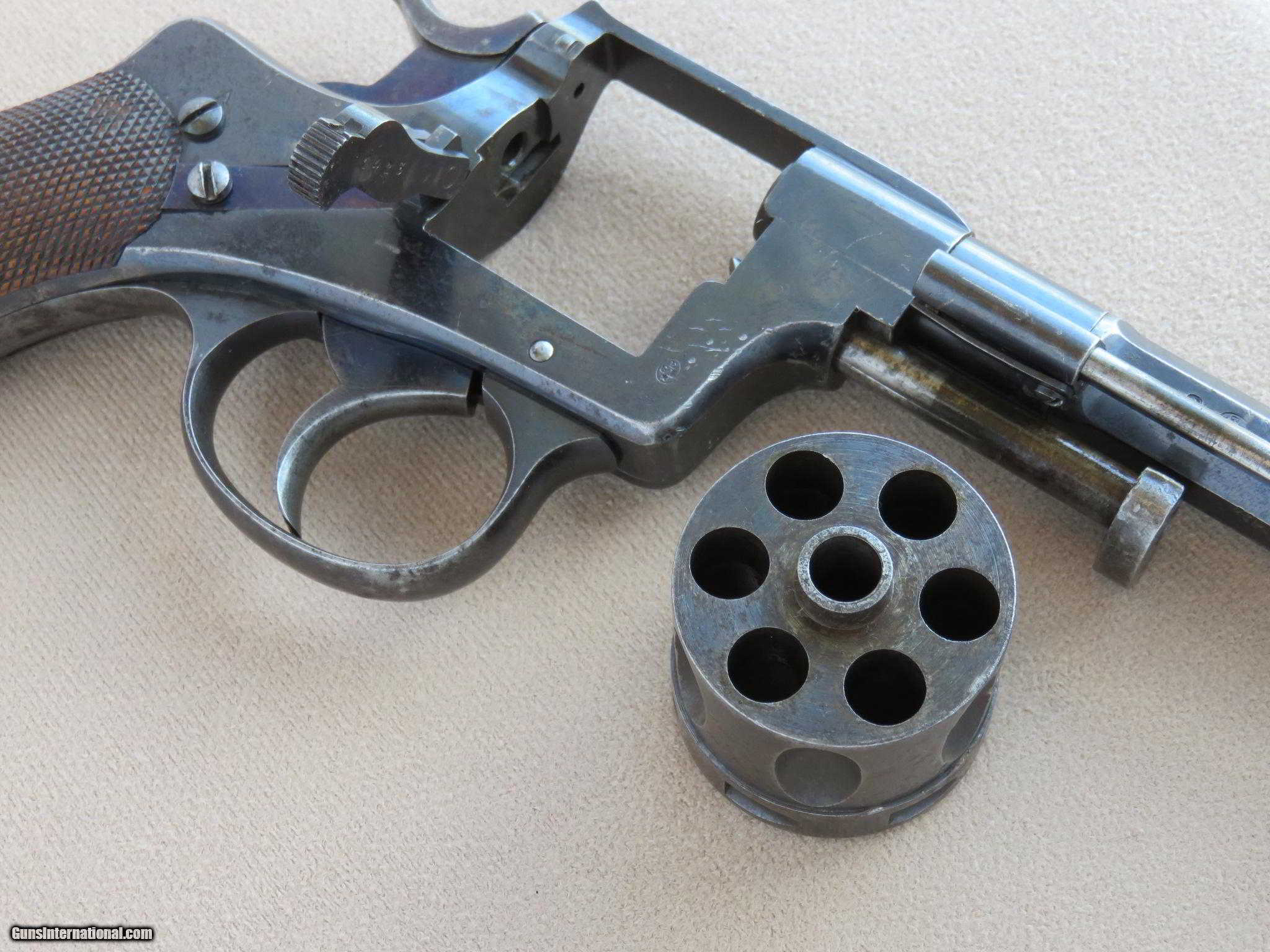 Belgian 1878 Nagant Revolver in 9mm Rimmed