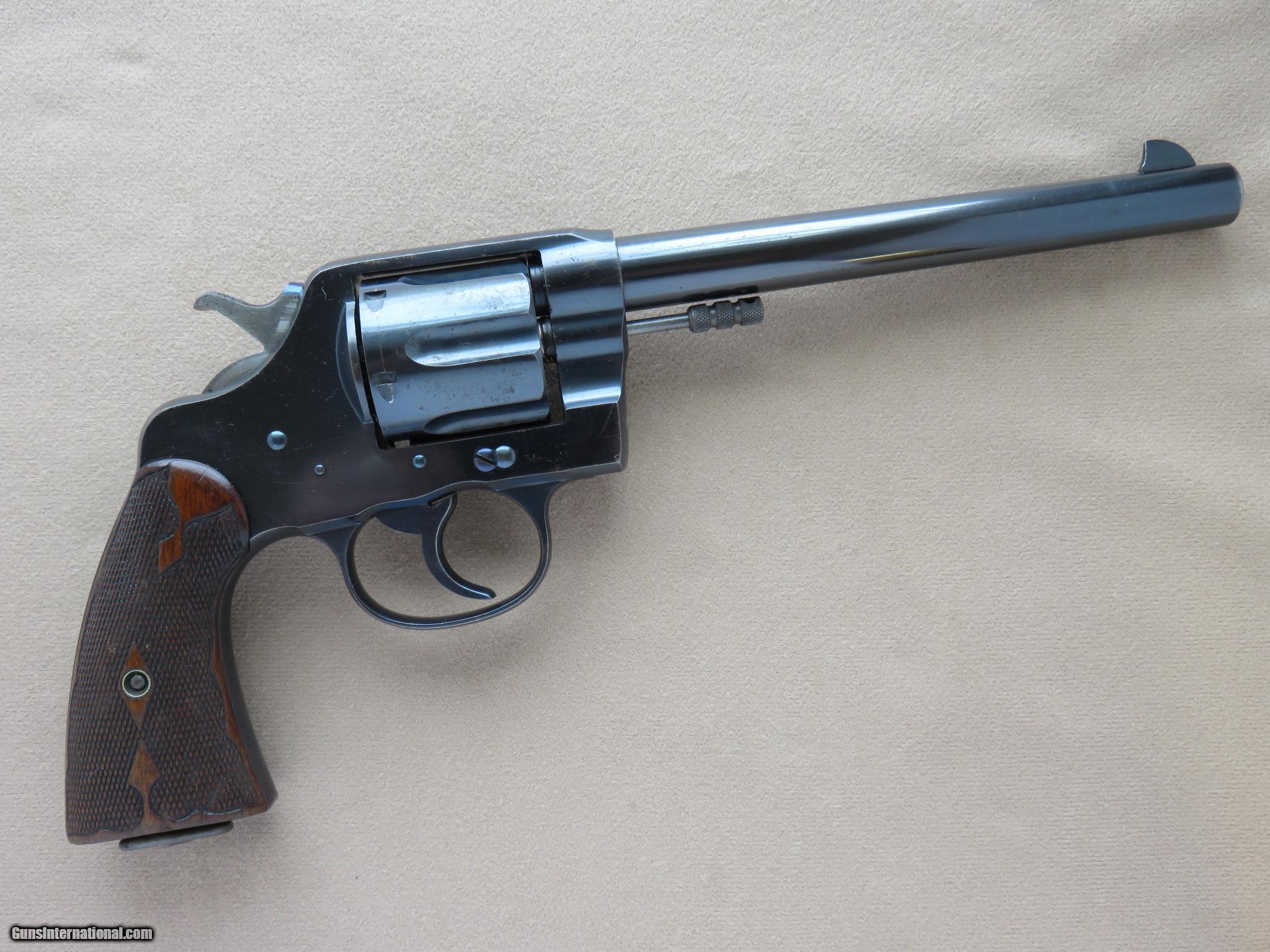 1906 Colt New Service Revolver in .38-40 WCF w/ Colt Fleur ...