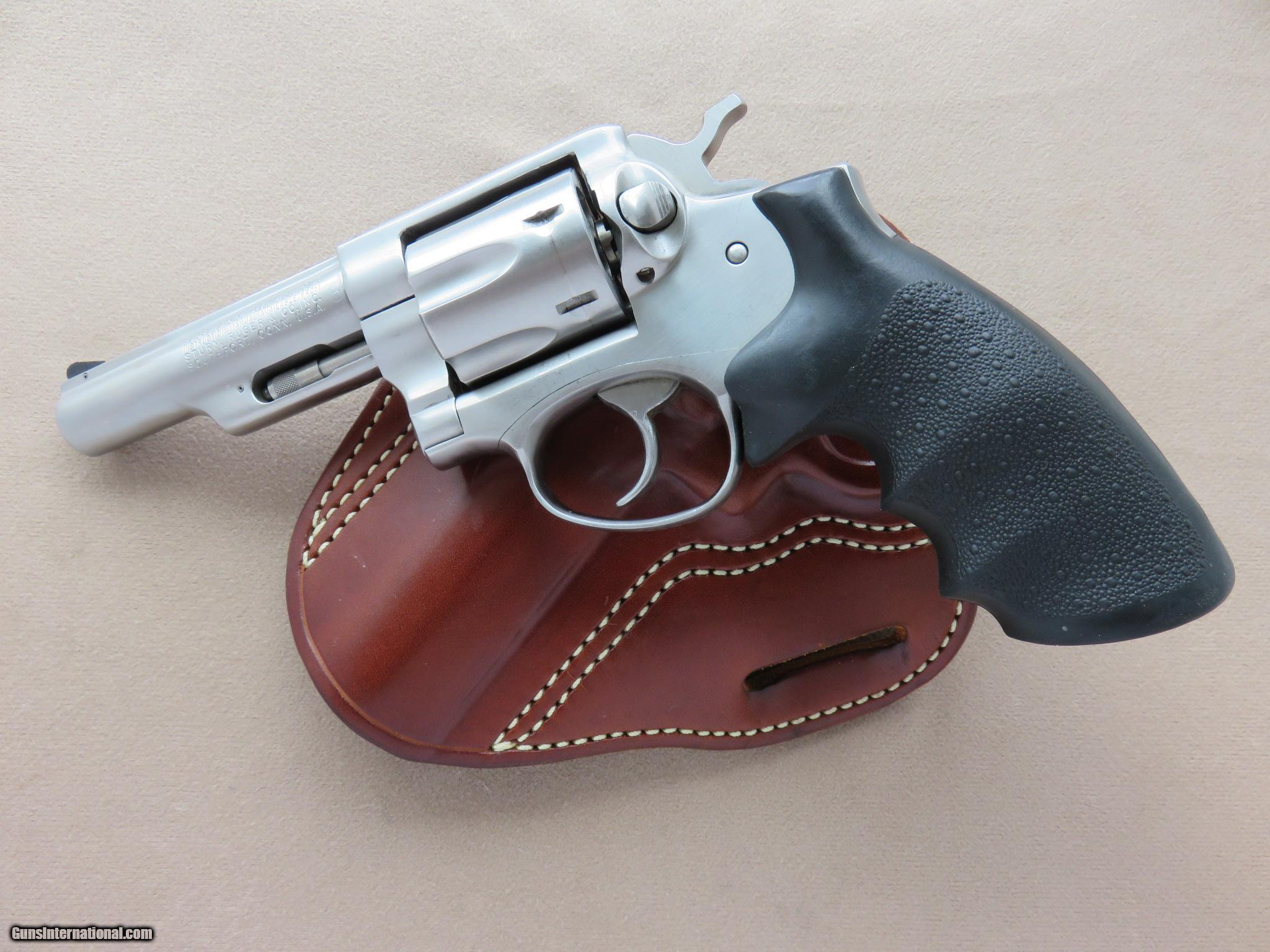 Ruger Police Service Six Custom-Tuned in  357 Magnum w/ O