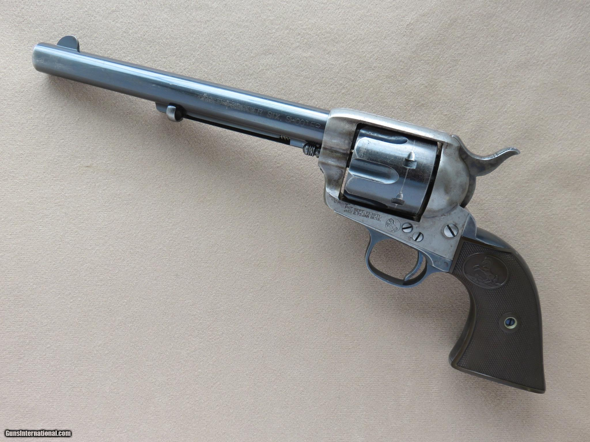 the legend of the colt six shooter pistol A favorite with westerners since its debut, the '73 was eventually teamed with the colt single action revolver and other six-guns of the time that had been chambered to take the winchester's proprietary 44-40, 38-40 and 32-20 ammunition.