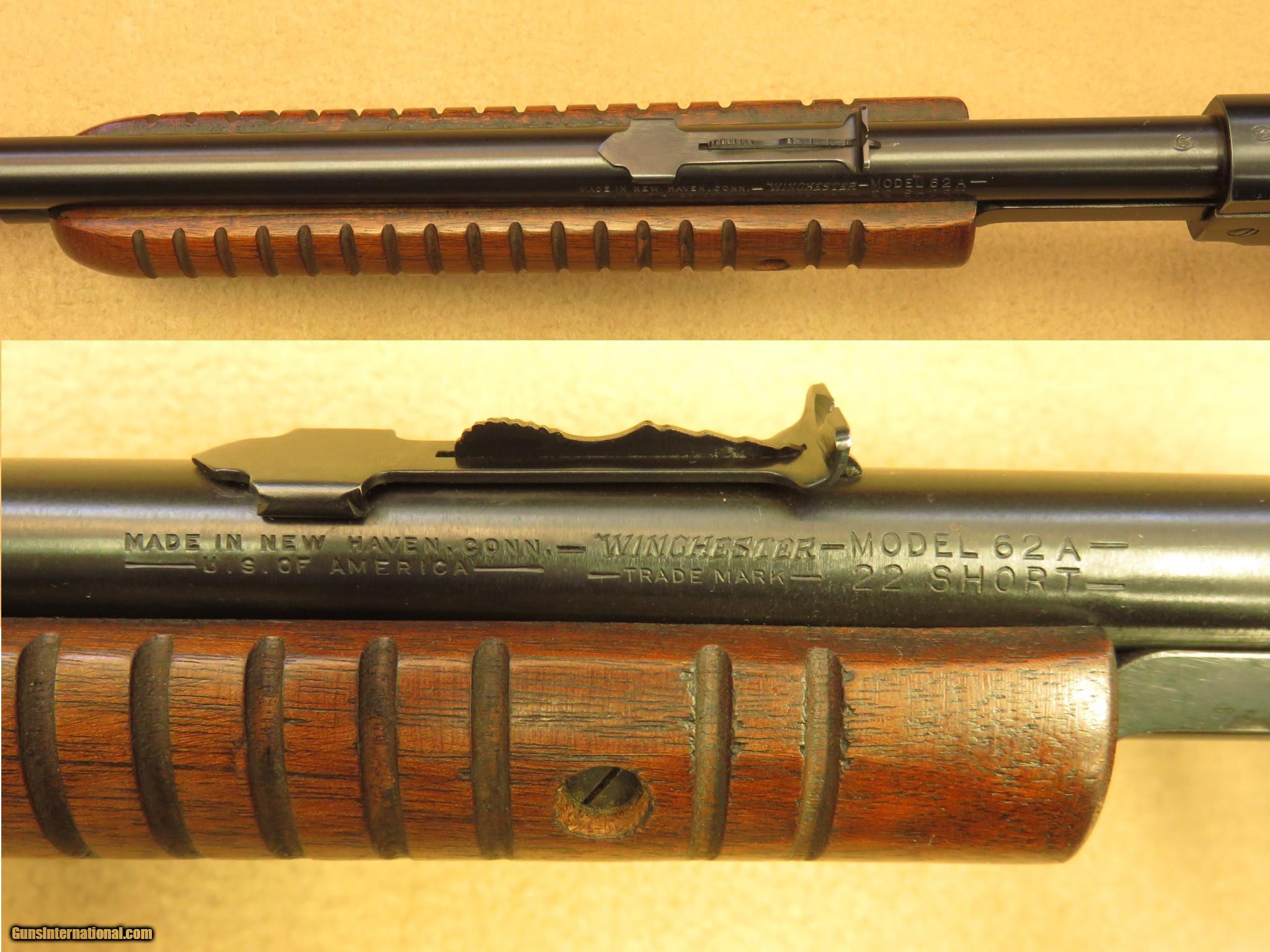 winchester model 62a gallery cal 22 short rh gunsinternational com Winchester Model 61 Winchester 62A Serial Number Chart