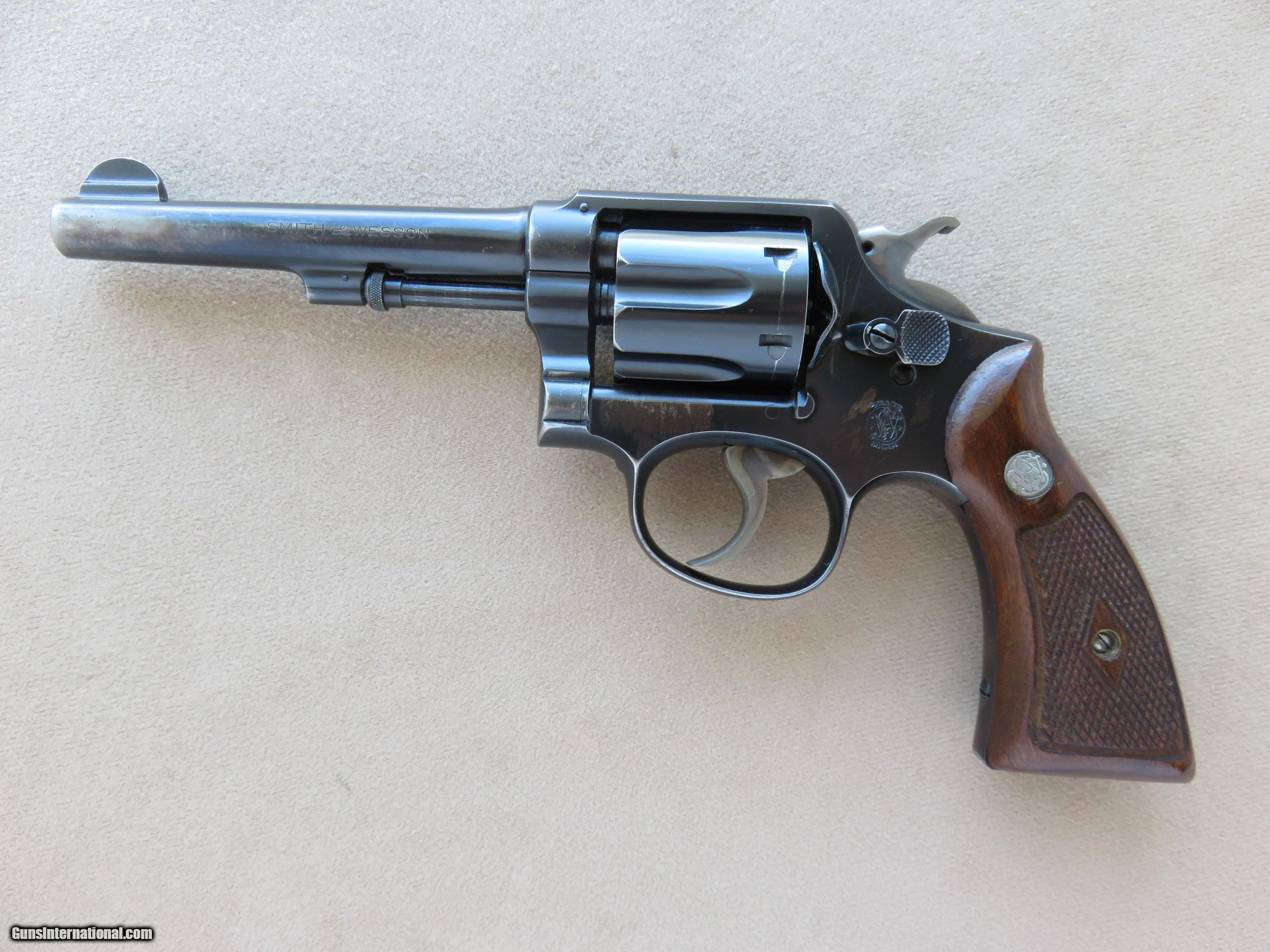 Pre-War Smith & Wesson M&P .38 Special Revolver