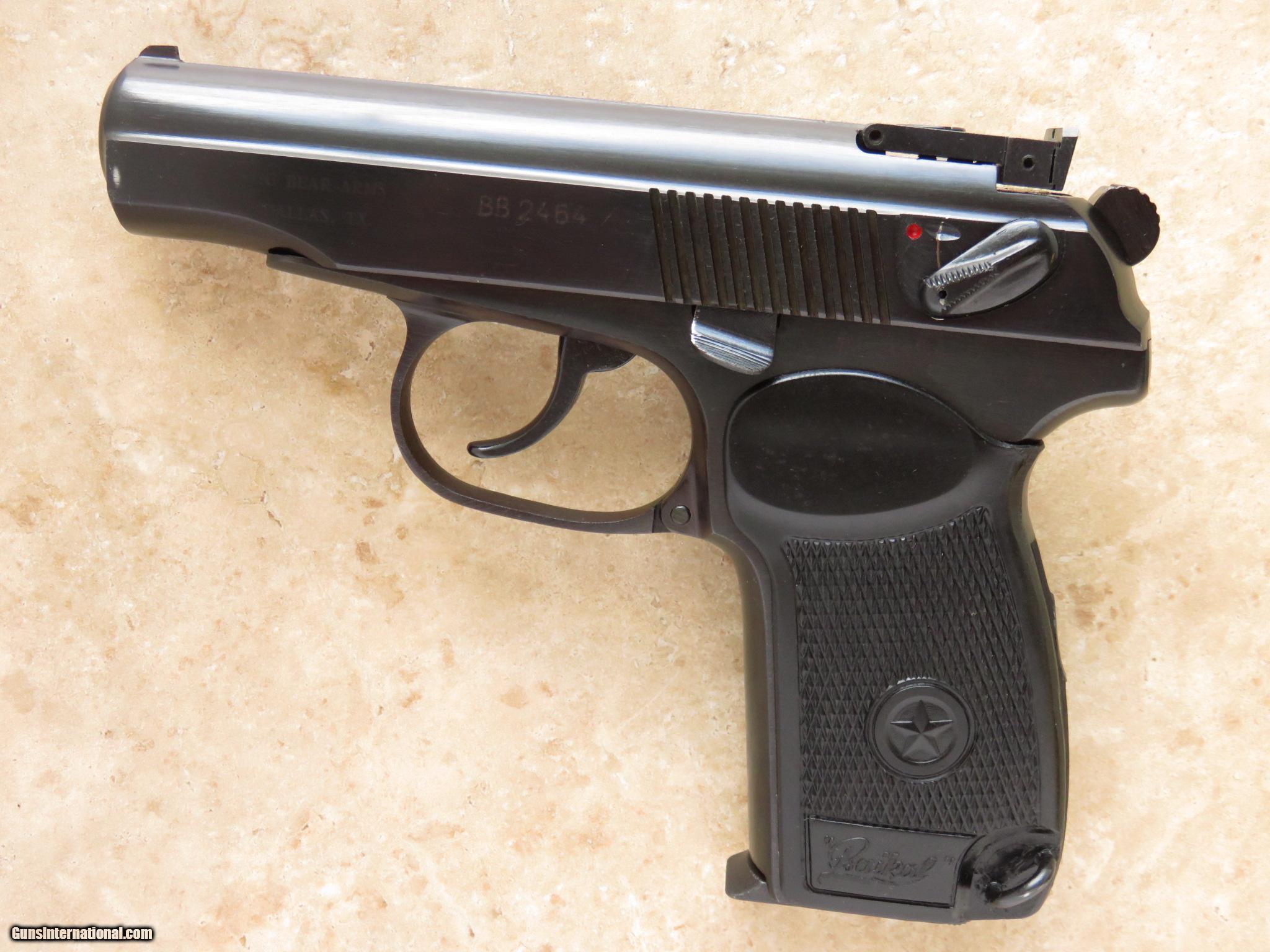 Russian Makarov Pistol, Cal  9x18 Makarov, Baikal IJ-70 SOLD