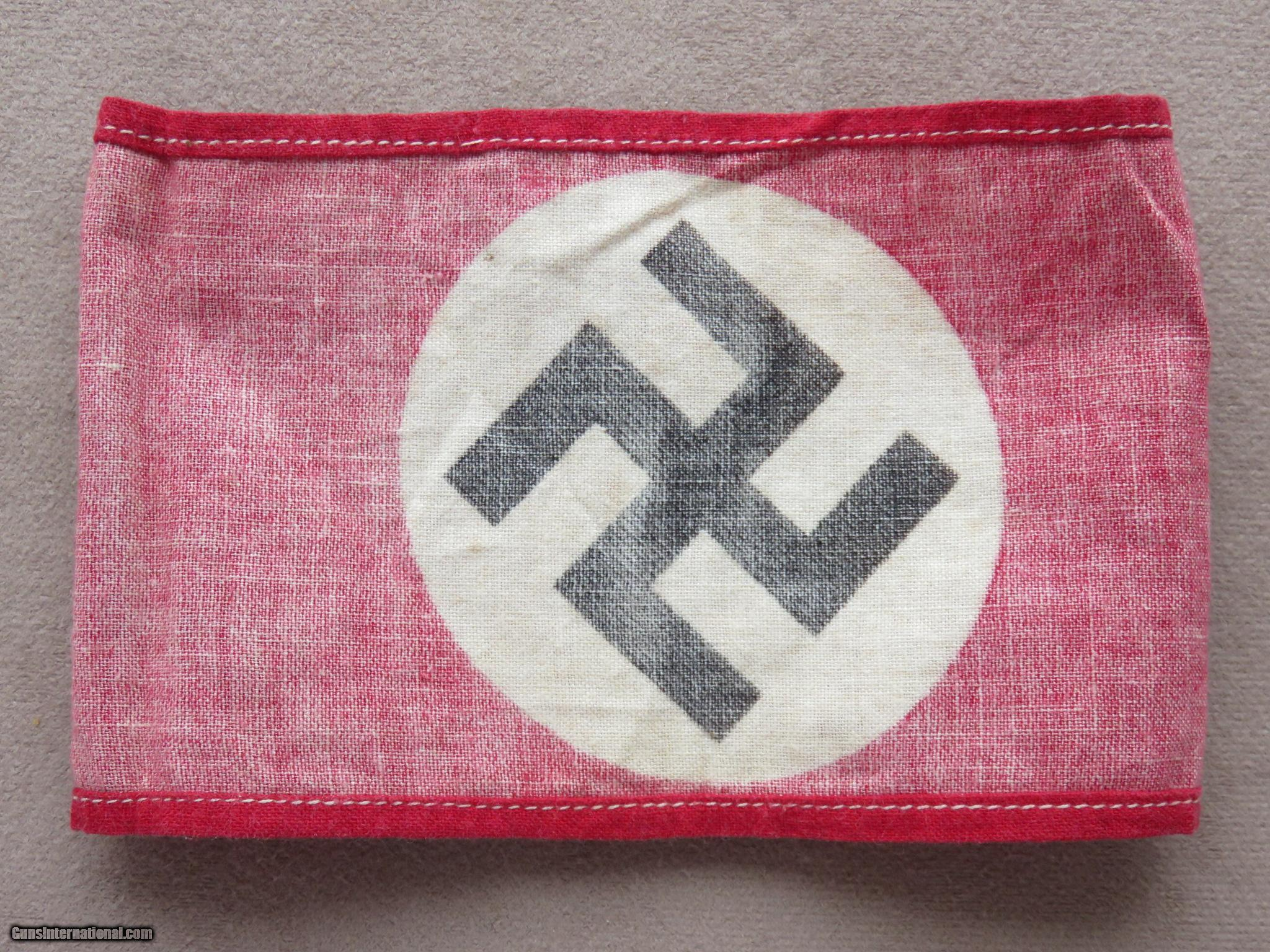 Nazi party armband german wwii nazi party armband german wwii 7 of 8 biocorpaavc Image collections