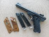 1980 Ruger Mk1 Target .22 Pistol w/ 2 Extra Mags & Checkered Walnut Ruger Target Grips