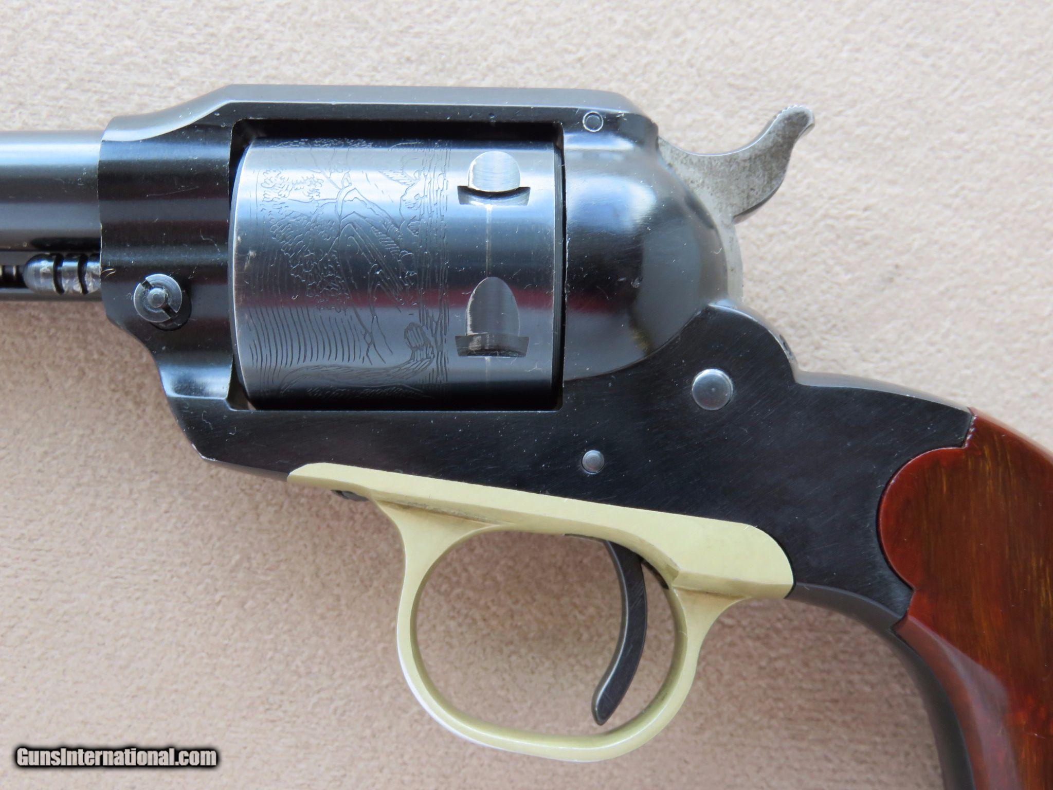 1961 Ruger Bearcat with Box & Holster