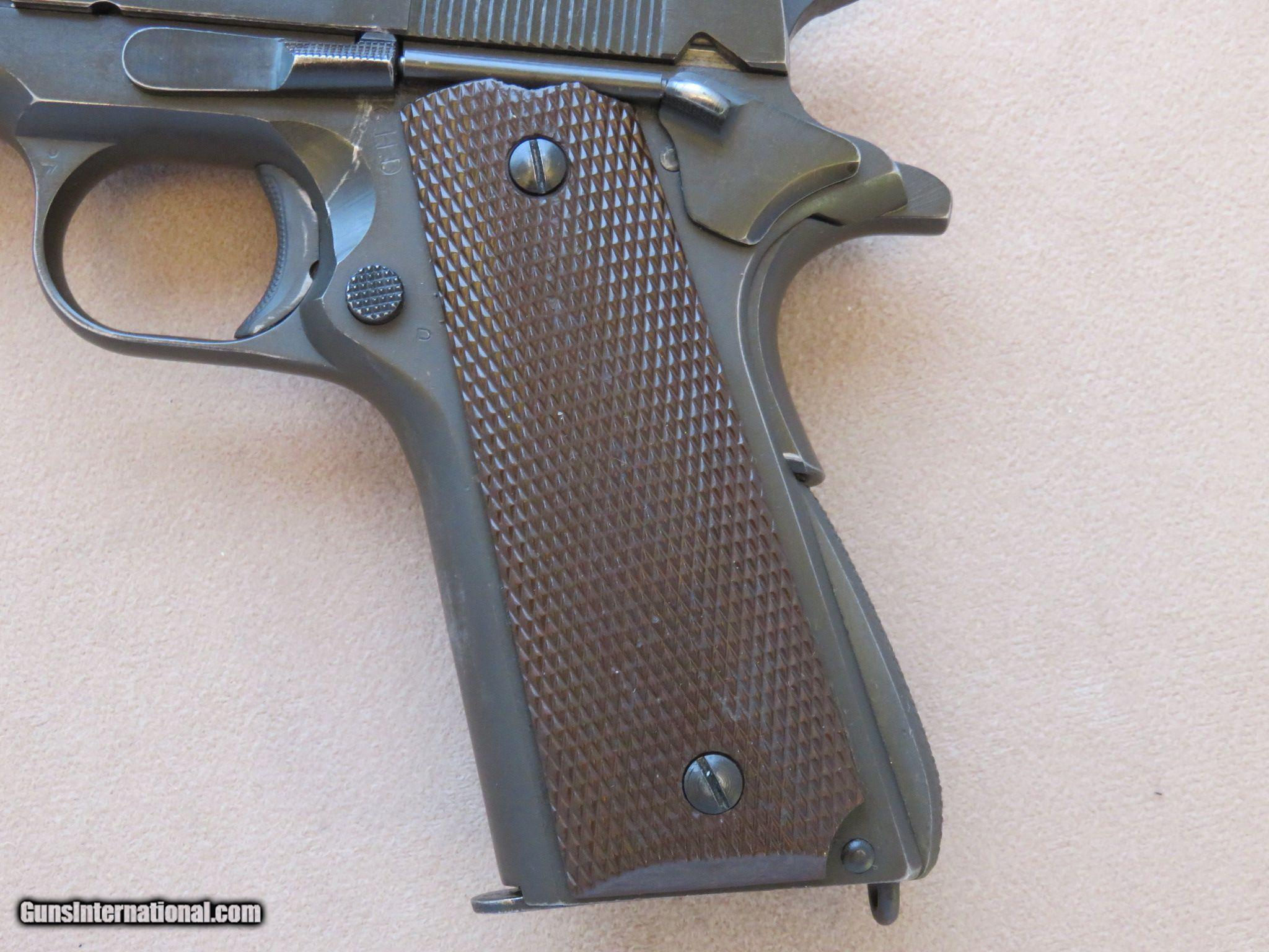 Colt 1911A1 w/ U.S. Shoulder Holster and the History ...
