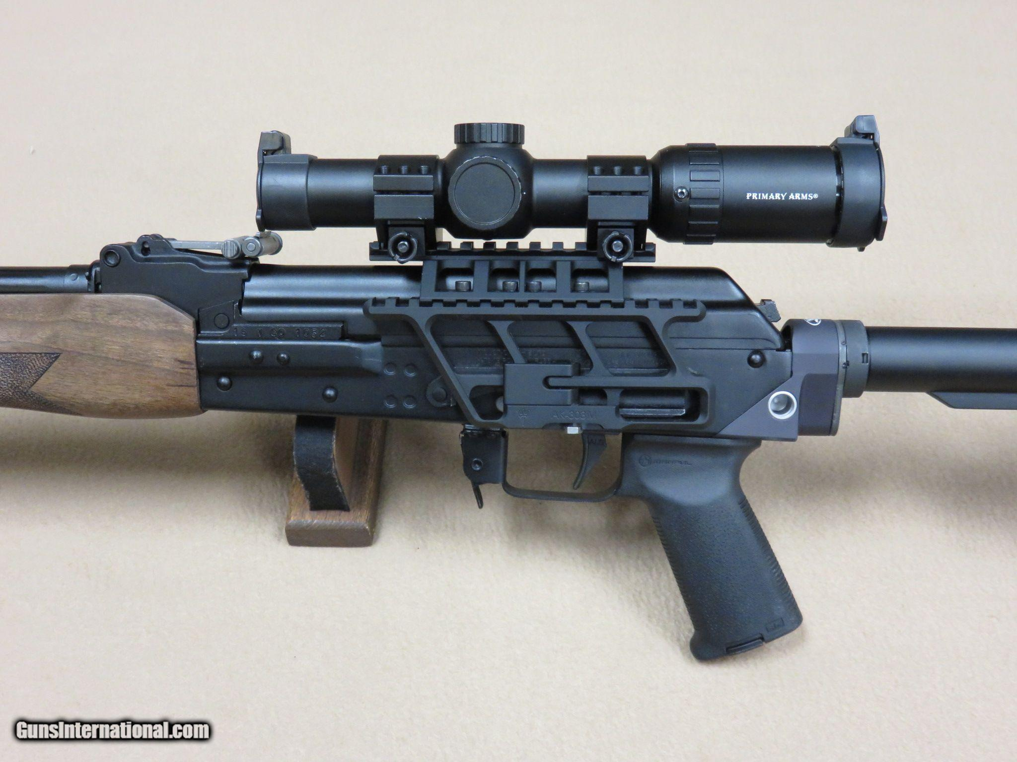 Molot VEPR AK 7 62x39 w/ Primary Arms Scope, Upgrades