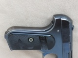 Colt Model 1903 Pocket Type III, Cal. .32 ACP, Fire Blue Finish, 1911 Vintage - 5 of 8