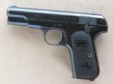 Colt Model 1903 Pocket Type III, Cal. .32 ACP, Fire Blue Finish, 1911 Vintage - 7 of 8