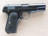 Colt Model 1903 Pocket Type III, Cal. .32 ACP, Fire Blue Finish, 1911 Vintage - 2 of 8