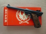 Ruger Mark 1 Target .22 Pistol with Original Box and Shipping Sleeve