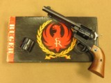 Ruger Old Model Flattop Single Six, Cal. .22 LR/.22 Magnum, 5 1/2 Inch Barrel
