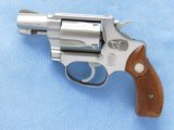 Smith & Wesson Model 60 (no dash), Cal. .38 Special, 2 inch Pinned Barrel