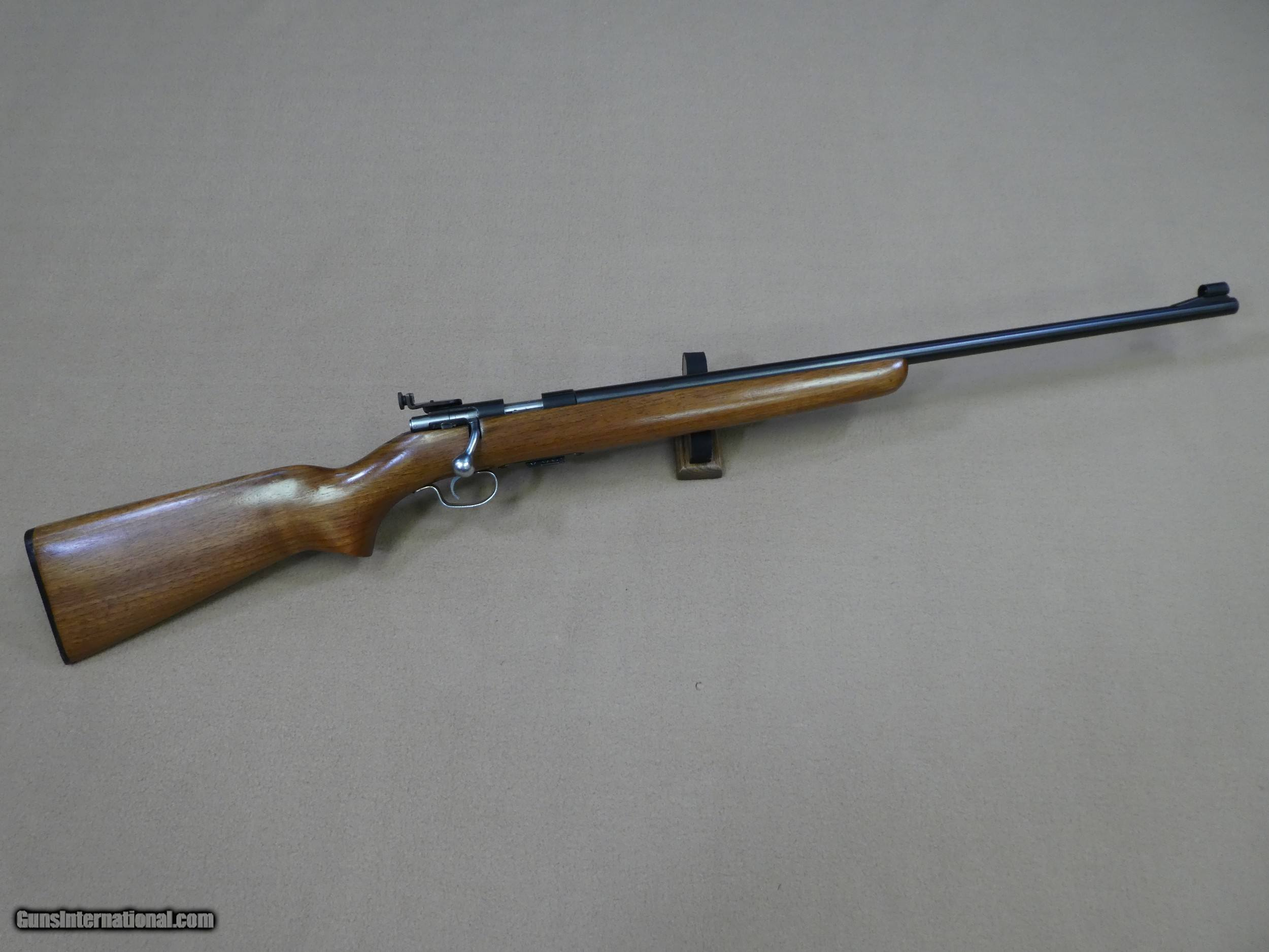 Winchester Model 69A Model  22 Rifle with Factory Grooved