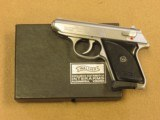 Walther American Model TPH, Cal. .22 LR, with Box & Test Target