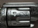 """Colt SAA Sheriff's Model Nickel .45 L.C. 4"""" Barrel1st Generation **Ben Lane Engraved** - 21 of 24"""