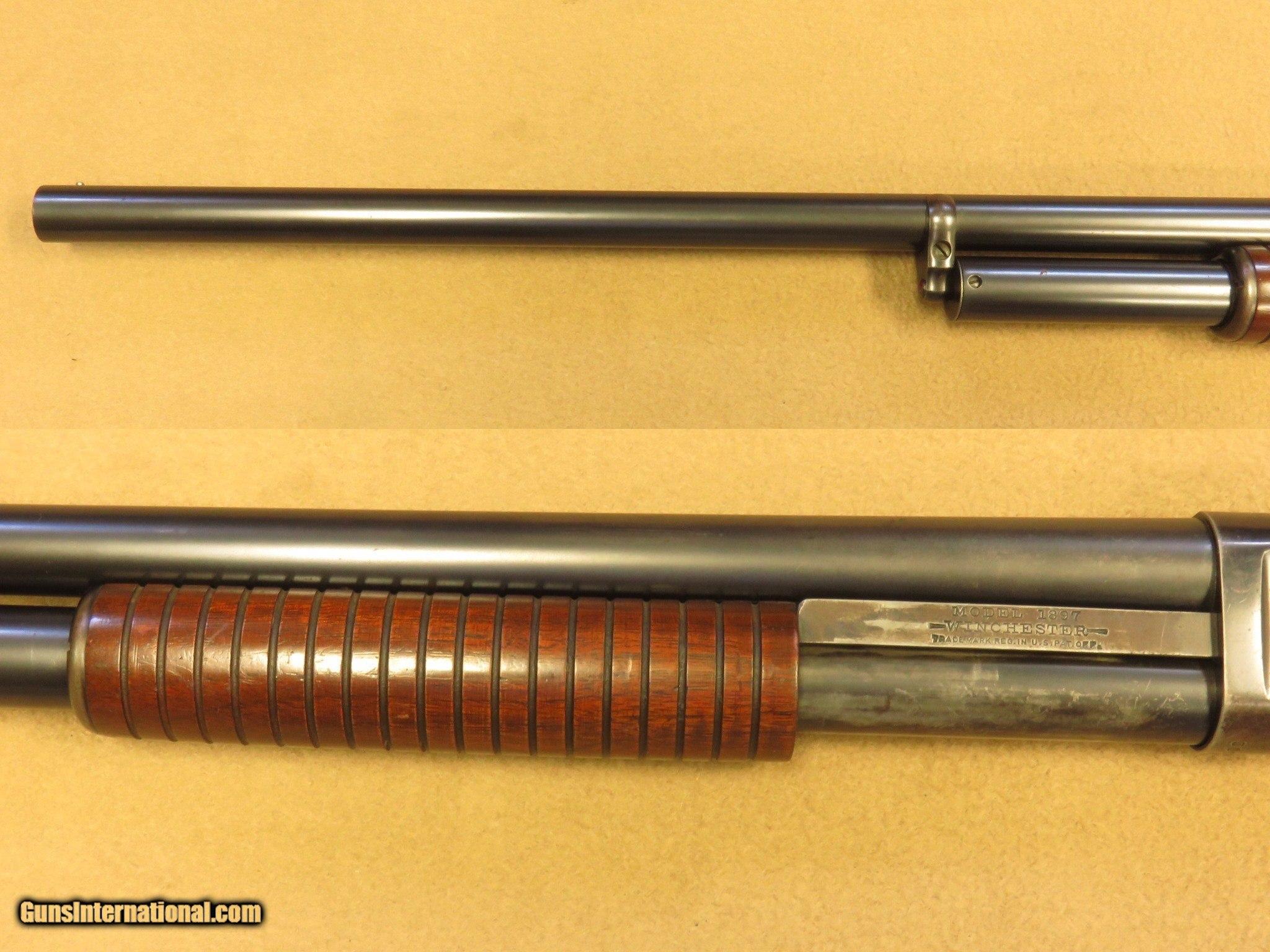 Winchester Model 1897 Slide Action, Solid Frame, 12 Gauge, 30 Inch