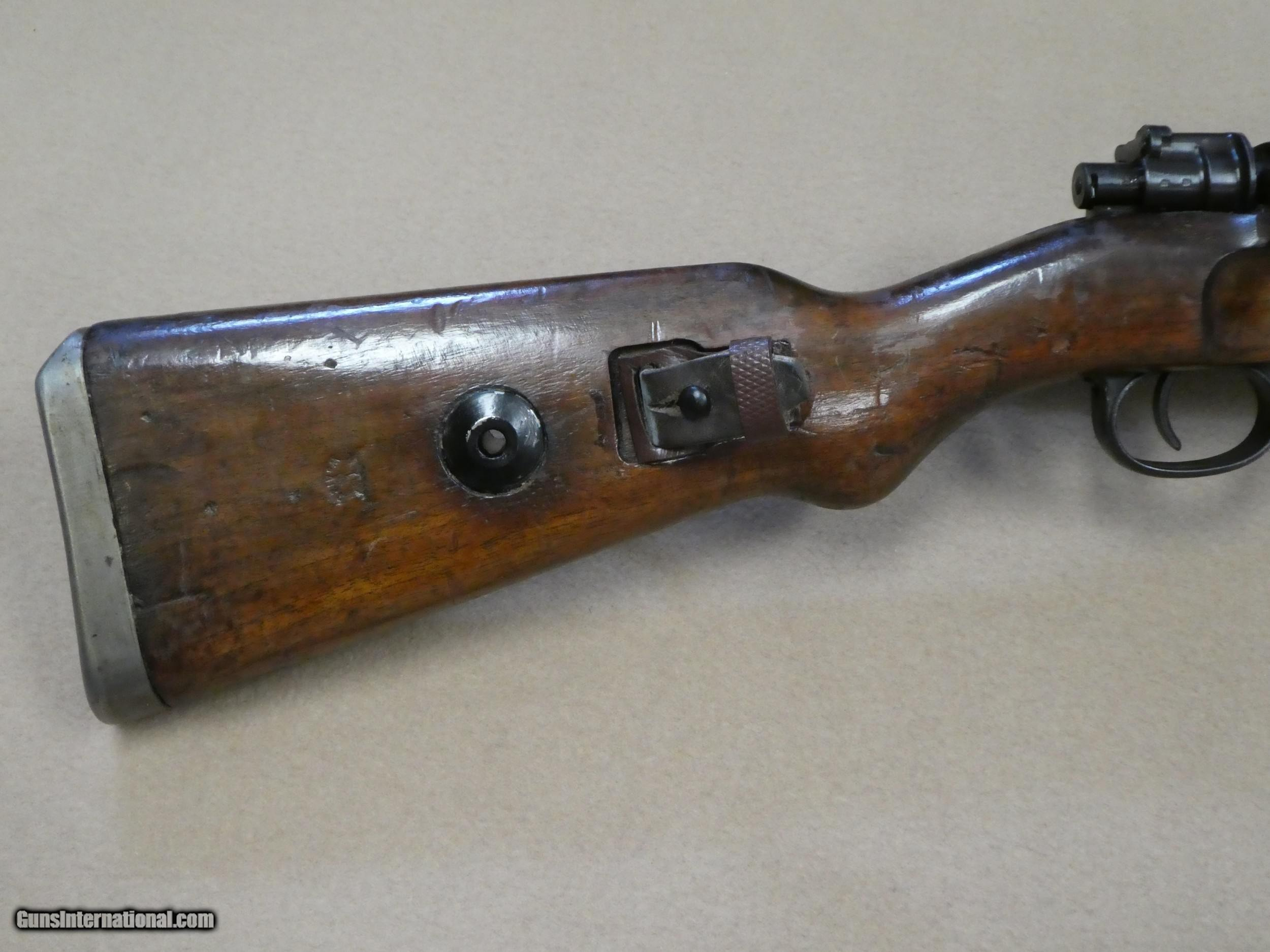 WW2 SS Contract Bnz43 K98 Rifle In 8mm Mauser Russian Capture