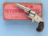 Colt Open Top Revolver (Old Line), with Box, .22 Cal. RF