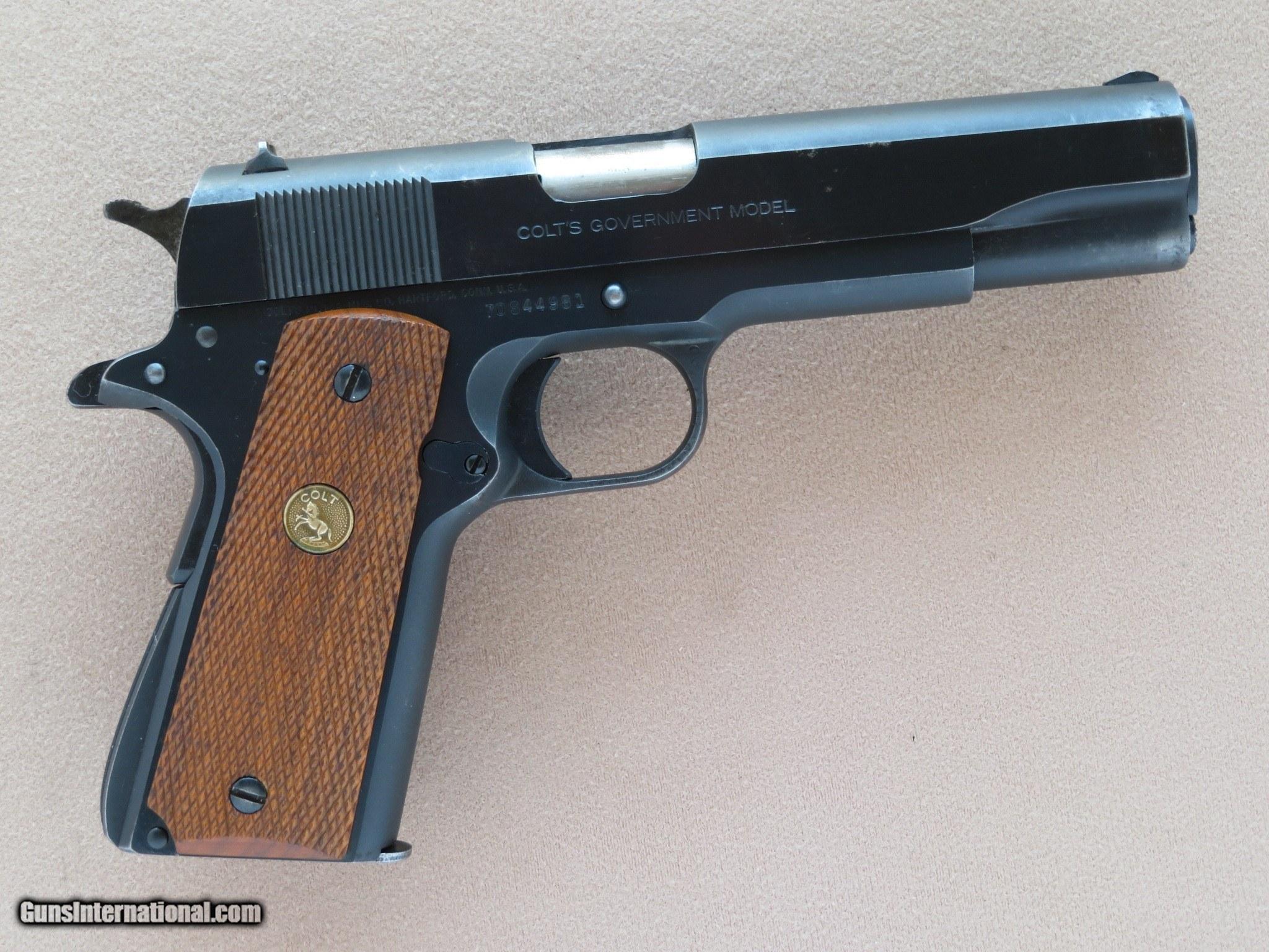 Colt 1911 Military Black Army World War One Pistol, 1918