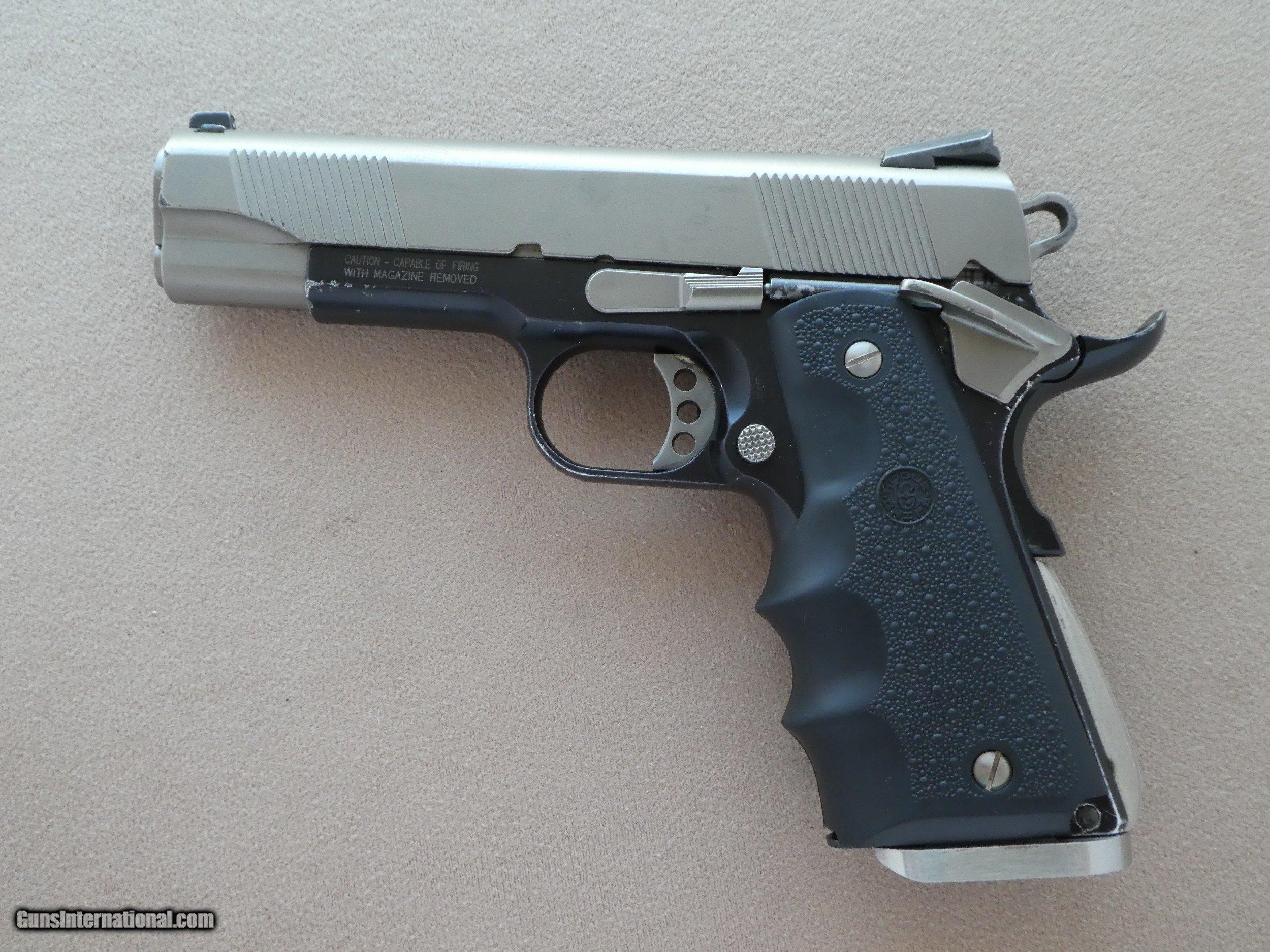 Smith & Wesson Model SW1911SC Scandium Frame Commander  45 ACP