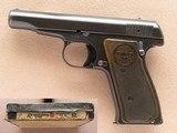 Remington Model 51 Pistol, Cal. .32 ACP, with Box